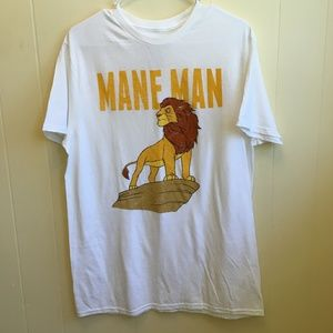 NEW WITHOUT TAGS DISNEY THE LION KING MUFASA TEE